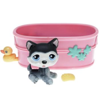 Littlest Pet Shop - Portable Pets - 0210 Husky