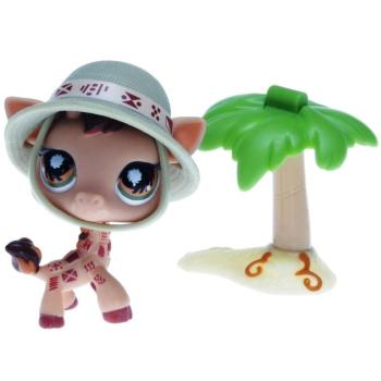 Littlest Pet Shop - Postcard Pets - 0902 Giraffe