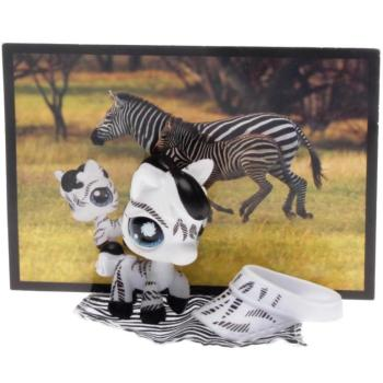 Littlest Pet Shop - Postcard Pets - 0903 Zebra