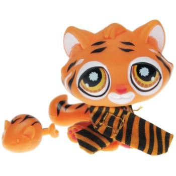 Littlest Pet Shop - Postcard Pets - 0905 Tiger