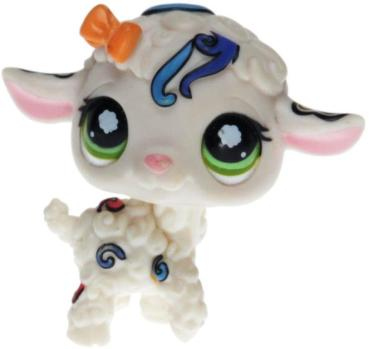 Littlest Pet Shop - Postcard Pets - 1068 Lamb