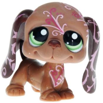 Littlest Pet Shop - Postcard Pets - 1358 Basset Hound
