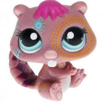 Littlest Pet Shop - Postcard Pets - 1580 Beaver