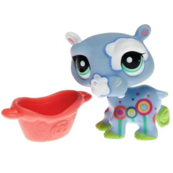 Littlest Pet Shop - Postcard Pets - 1850 Hippo