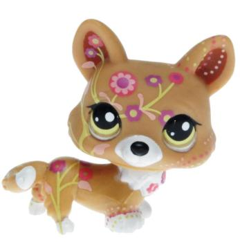 Littlest Pet Shop - Postcard Pets - 1851 Corgi