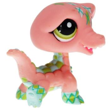 Littlest Pet Shop - Postcard Pets - 1853 Crocodile