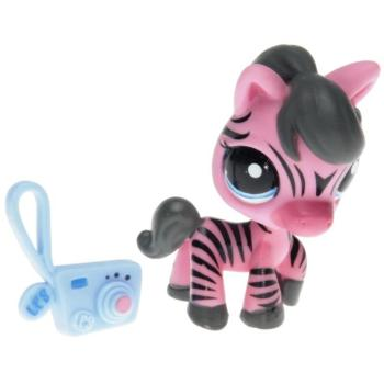 "Littlest Pet Shop - Singles - 2078 Zebra pink - Toys""R""Us"