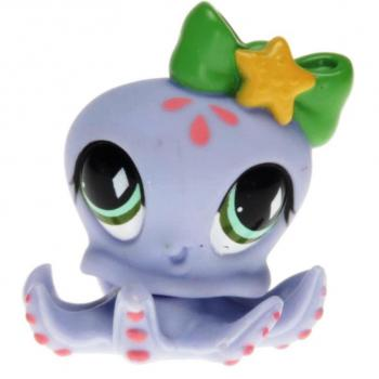 Littlest Pet Shop - Singles - 0795 Octopus