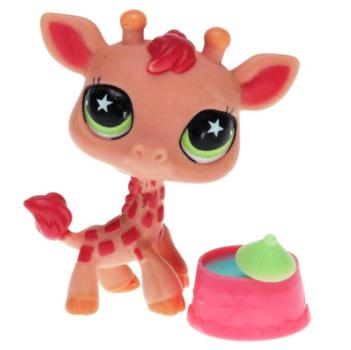 Littlest Pet Shop - Singles Exclusive TRA - 0943 Giraffe