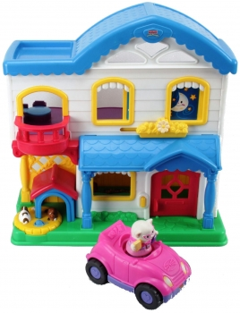 Fisher-Price Little People L4200 - Busy Day Home mit Auto