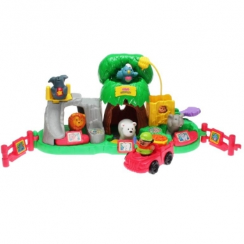 Fisher-Price Little People 77949 - Tierspass Zoo