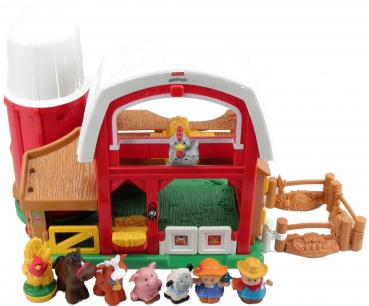 Fisher-Price Little People K7925 - Tierstimmen Bauernhof gross