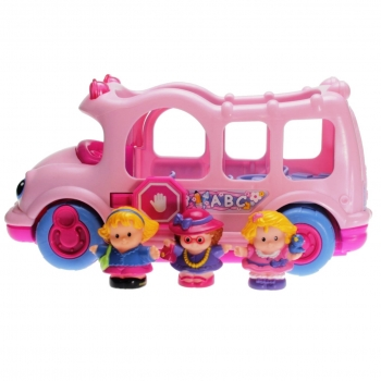 Fisher-Price Little People N3966 - Schulbus pink