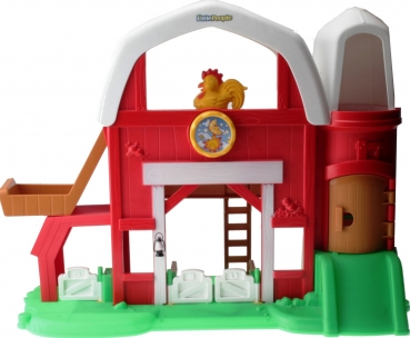 Fisher-Price Little People Y3677 - Tierstimmen Bauernhof