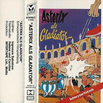 MC - Asterix - als Gladiator