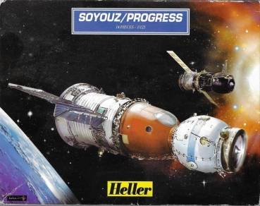 Heller 79728 - SOYOUZ-PROGRESS - 1:125