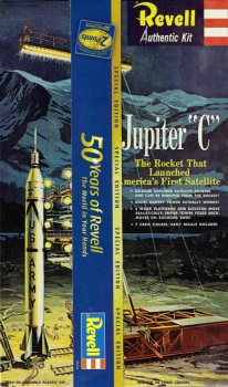 Revell H1819 - Jupiter C Special Edition 50 Years of Revell - 1:110