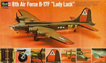 Revell H209 - 8th Air Force B-17F Lady Luck - 1:72