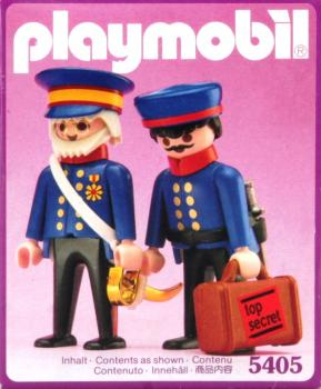 Playmobil - 5405 Victorian General and Attache