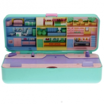 Polly Pocket Mini - 1989 - High Street Money Box Playset Bluebird Toys 900611
