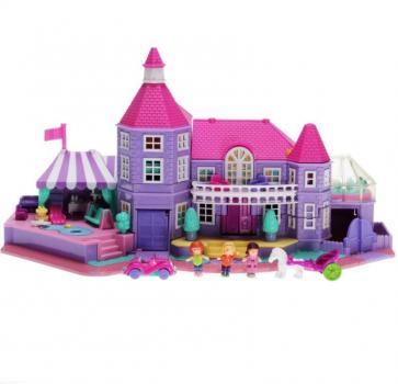 Polly Pocket Mini - 1994 - Pollyville - Light-up Magical Mansion 11985