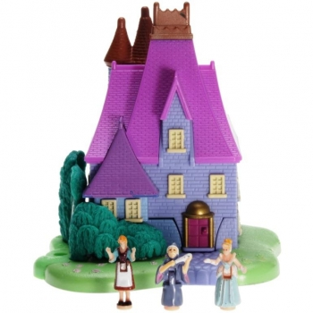 Polly Pocket Mini - 1995 - Disney - Cinderella Stepmother's House