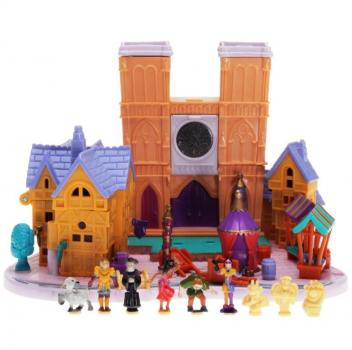 Polly Pocket Mini - 1995 - Disney - The Hunchback of Notre Dame