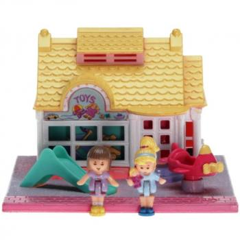 Polly Pocket Mini - 1993 - Pollyville - Toy Shop Bluebird Toys 940281