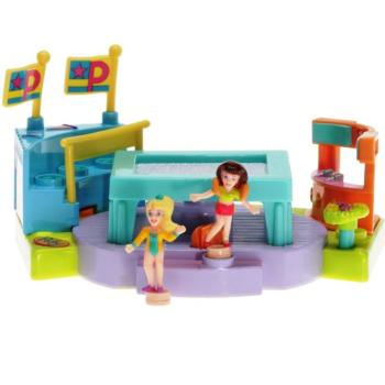 Polly Pocket Mini - 1999 - Gym Turnfest - Trampoline Mattel 24846