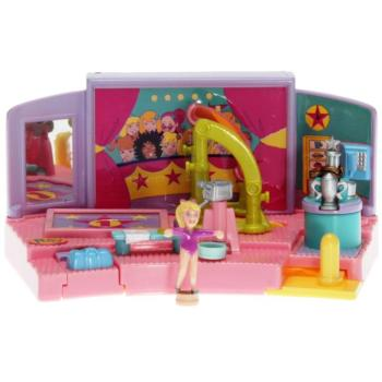 Polly Pocket Mini - 1999 - Gym Turnfest - Uneven Parallel Bar - 24844