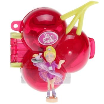 Polly Pocket Mini - 2000 - Fruit Surprise Cherry Mattel Toys 28652