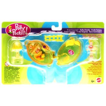 Polly Pocket Mini - 2000 - Fruit Surprise Lemon Mattel Toys 28653