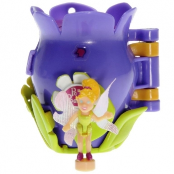 Polly Pocket Mini - 2001 - Flower Fairies - Honey Bee Locket - 54288