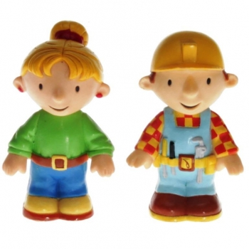 TOMY LC65733MP - Bob the Builder, Bob and Wendy