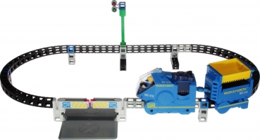 Rokenbok Set - Monorail with Track & Crossing