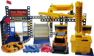 Rokenbok Set - ROK Works Construction & Action Set