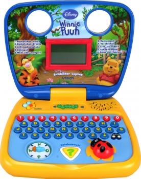 VTech 80-103604 - Lerncomputer Winnie Puuhs Entdecker Laptop