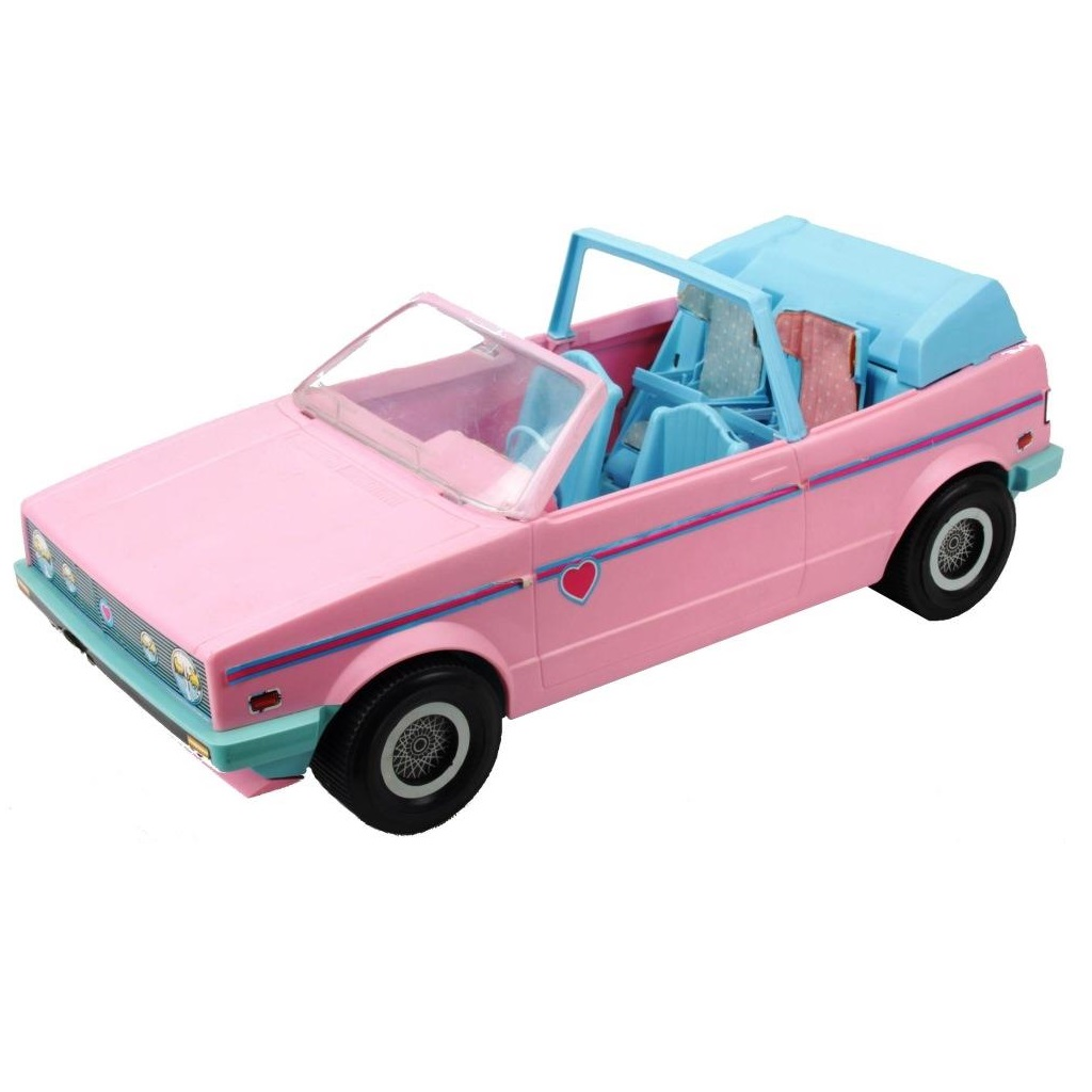 Barbie 1986 Vw Golf Cabrio Decotoys