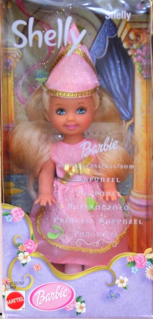 Barbie Shelly 55949 Barbie As Rapunzel Shelly