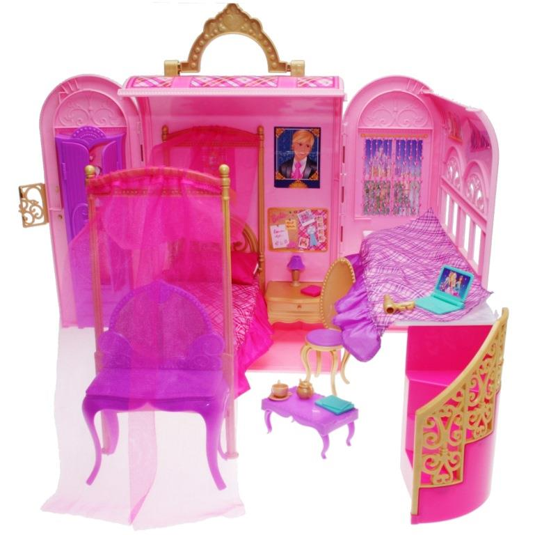 Awesome Barbie V6823 Royal Bedroom For Two Decotoys Download Free Architecture Designs Rallybritishbridgeorg