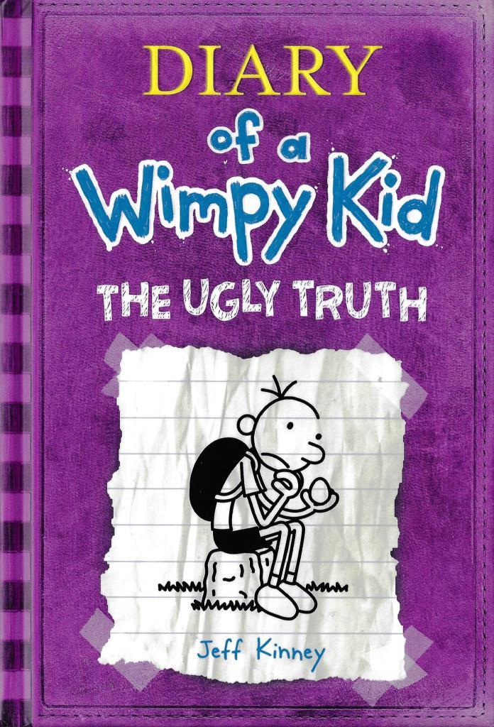 gregs tagebuch 5 englisch diary of a wimpy kid the ugly truth decotoys. Black Bedroom Furniture Sets. Home Design Ideas