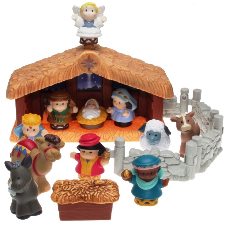 Fisher Price Little People J4506 Christmas Story Decotoys