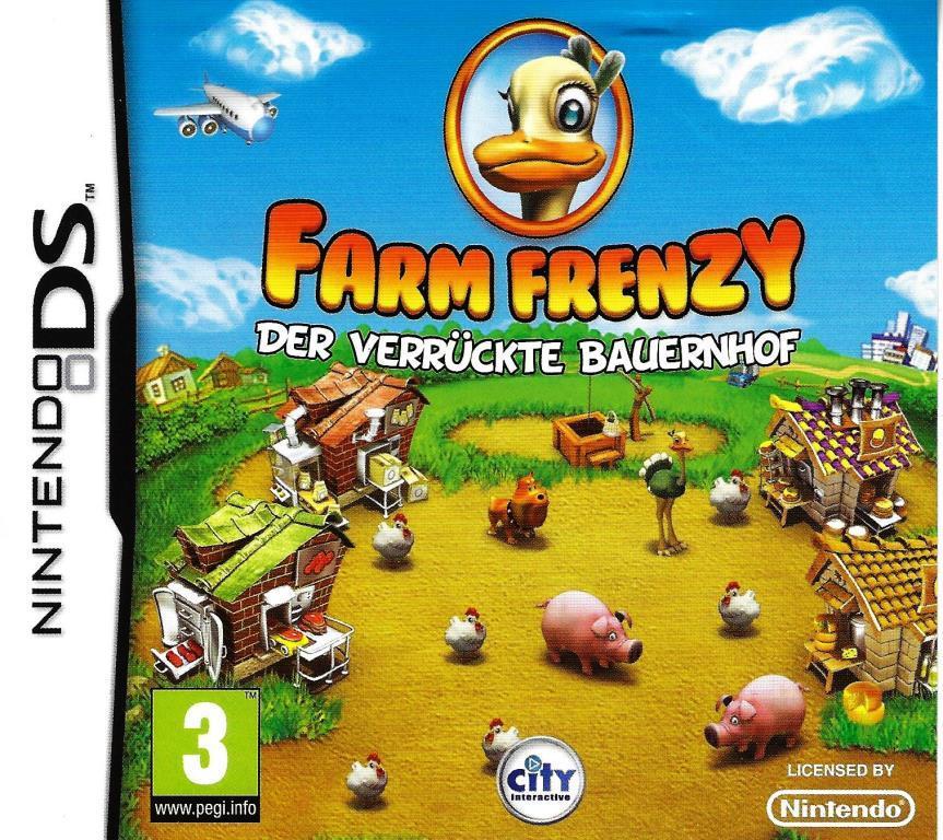 Nintendo DS - Farm Frenzy - Der verrückte Bauernhof