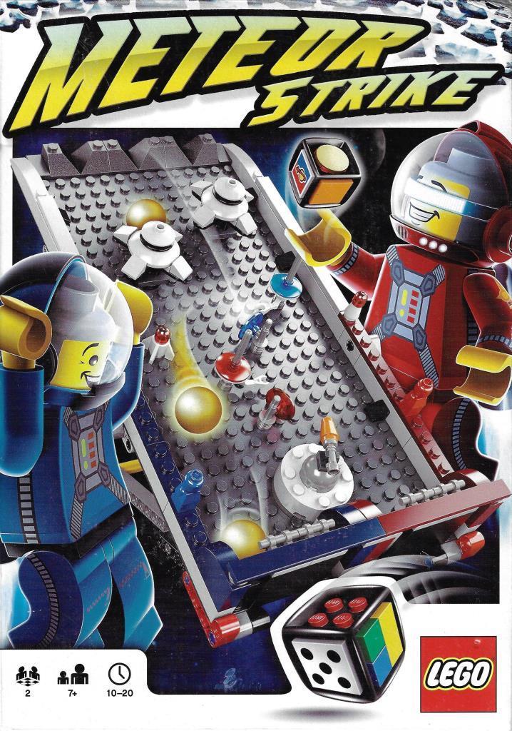 Lego Spiele 3850 Meteor Strike Decotoys