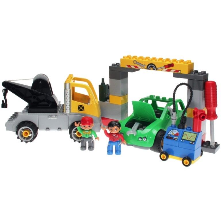 Welp LEGO Duplo 5641 - Busy Garage - DECOTOYS QX-09