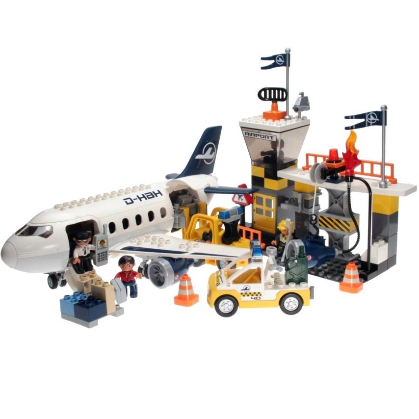 Lego Duplo 7840 Airport Action Set Decotoys