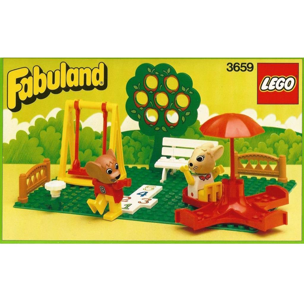 Lego Fabuland 3659 Play Ground Decotoys