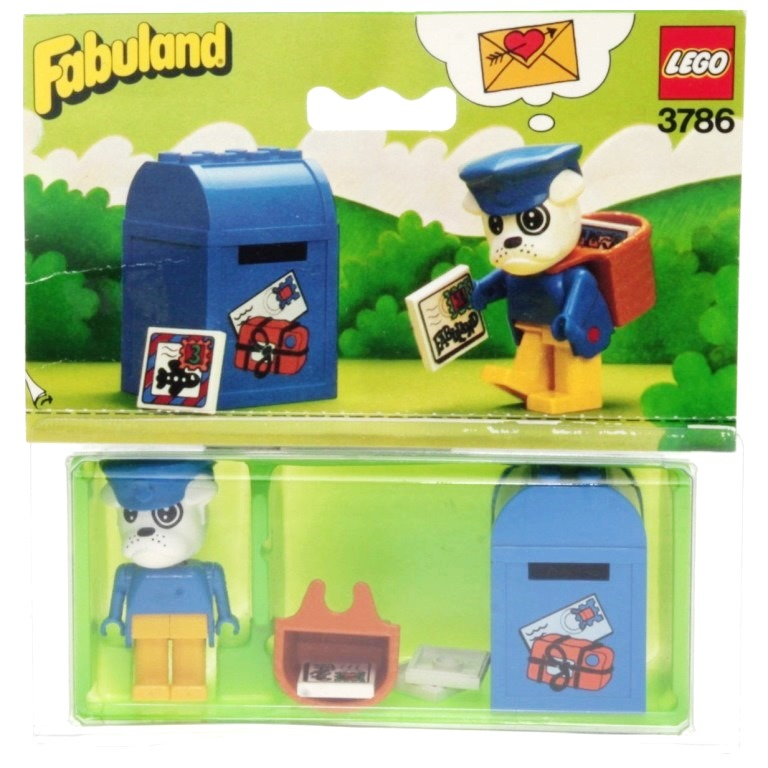 Lego Fabuland 3786 Buzzy Bulldog The Postman Decotoys