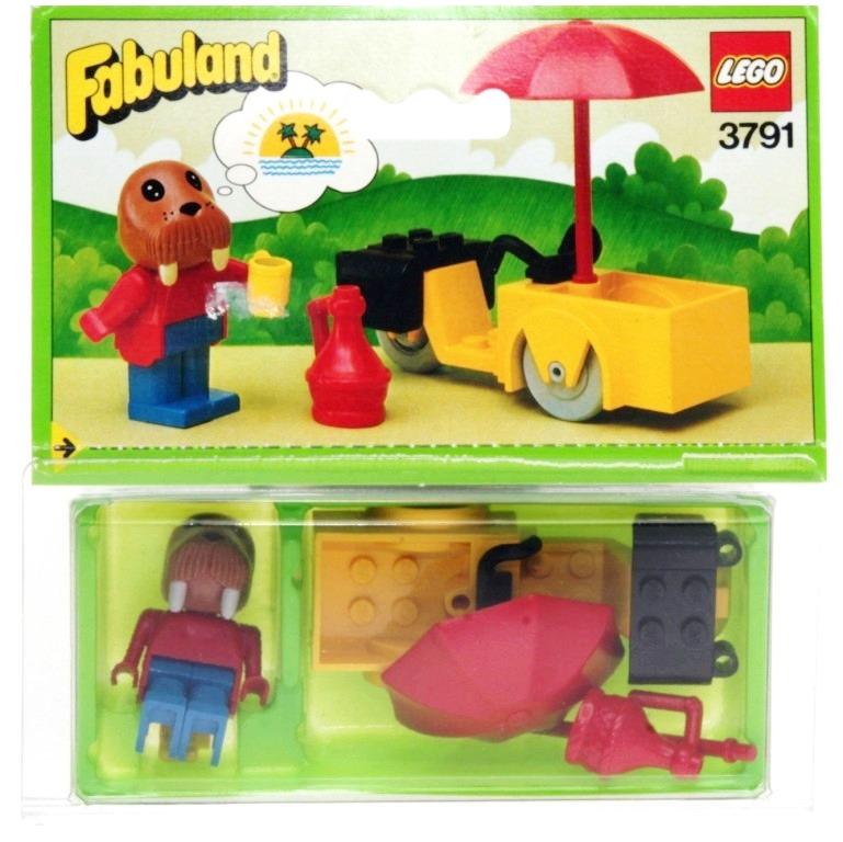 Lego Fabuland 3791 Wally Walrus Decotoys