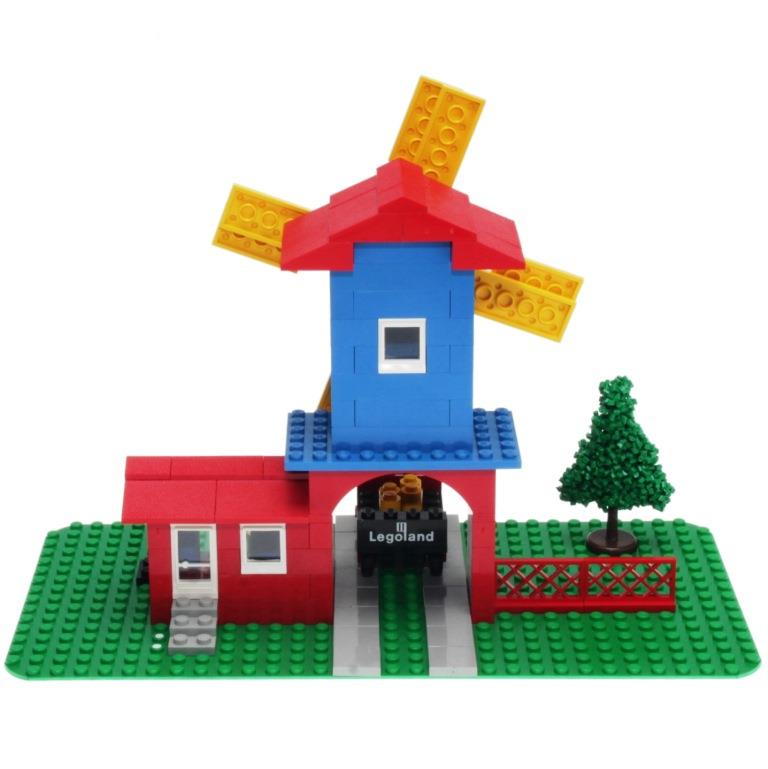 LEGO Legoland 352 - Windmill and Lorry - DECOTOYS